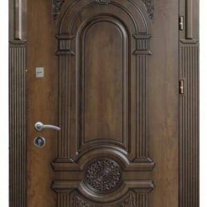 Входная дверь МОНОЛИТ РИМ 3 патина